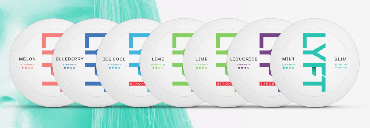 Lyft ice cool mint slim strong Snus